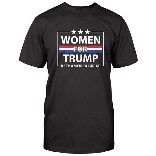 Women For Trump Keep America Great T-Shirt