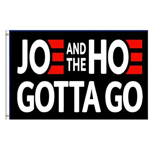 Joe And The Hoe Gotta Go flag: 3 ft x 5 ft