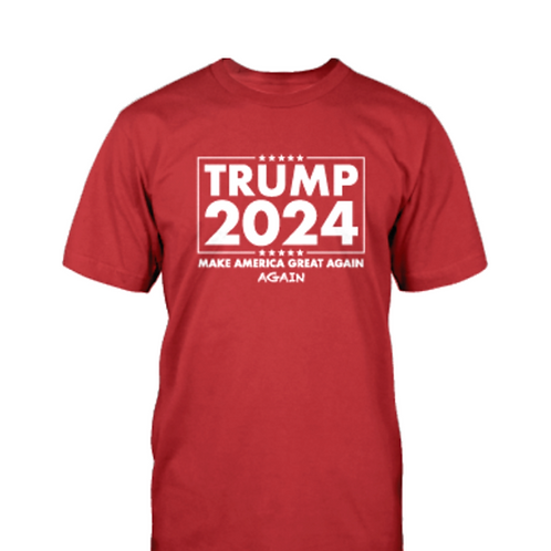 Trump 2024: Make America Great Again Again T-Shirt