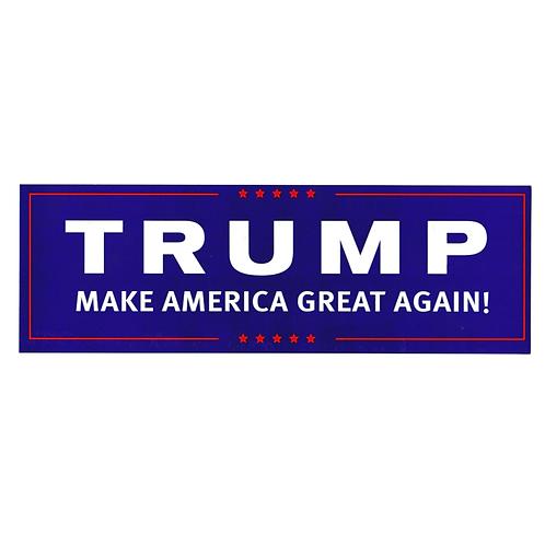 Trump Make America Great Again Bumper Sticker