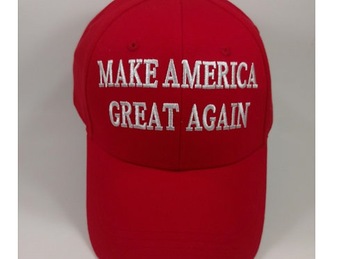 """Classic """"Make America Great Again"""" Cap - Available in Red and Camo!"""