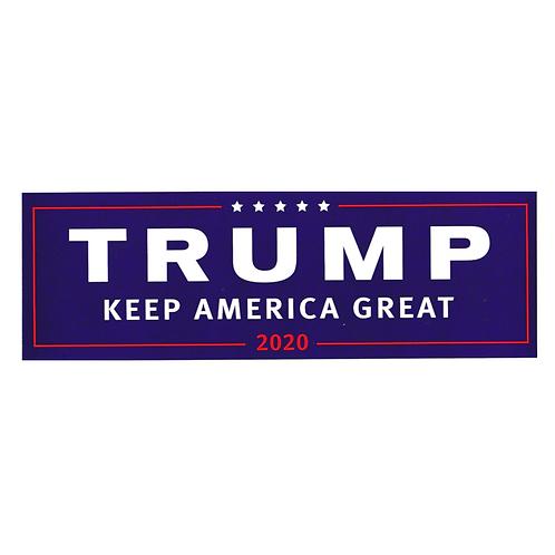 Trump Keep America Great 2020 bumper sticker