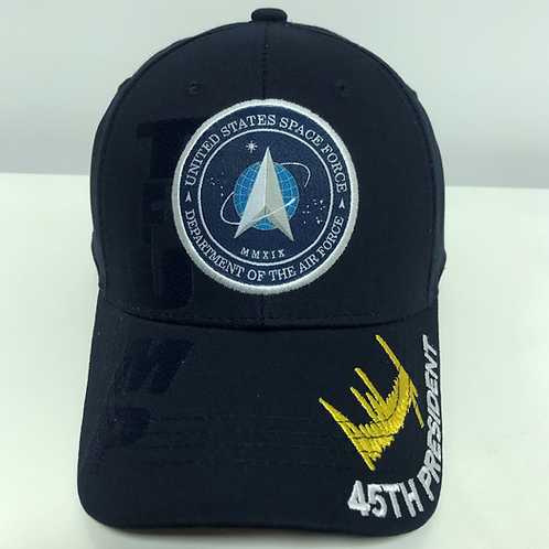 Trump Space Force Cap - Available in Navy Blue