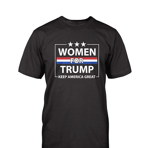 Women For Trump Keep America Great T-Shirt