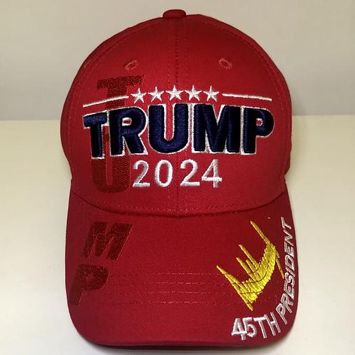 Trump 2024 Signature Cap – Available in five colors.