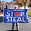 Thumbnail: Stop The Steal Banner: 3 ft x 5 ft