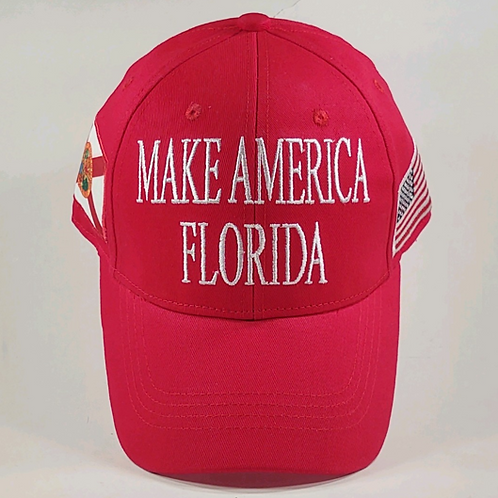 Make America Florida Cap - Available in Red