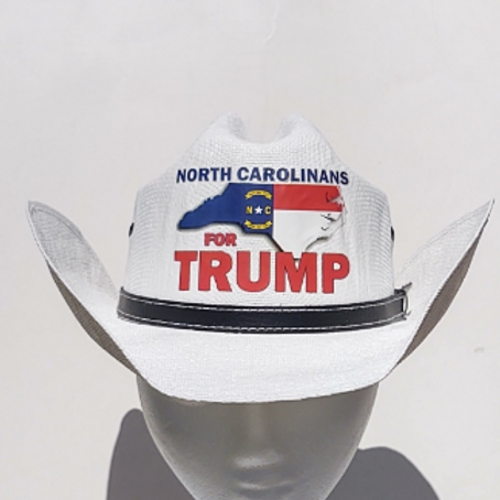 North Carolinians For Trump Cowboy Hat