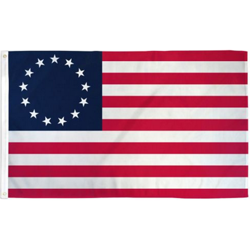 Betsy Ross Flag: 3 ft x 5 ft