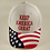 """Thumbnail: American Flag """"Keep America Great"""" Cap. Available in Red, White and Blue"""