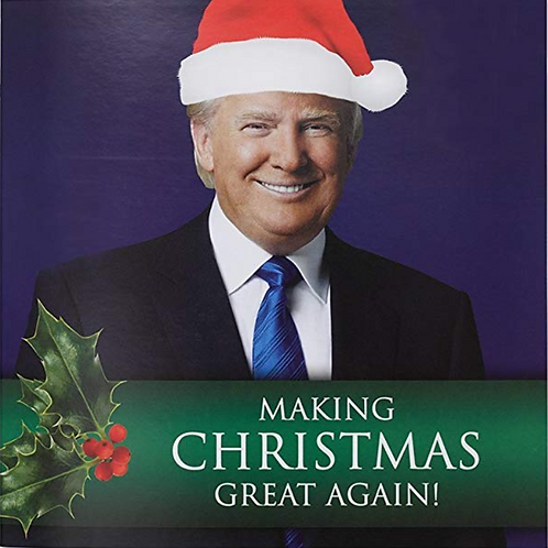 Donald Trump Talking Christmas Card