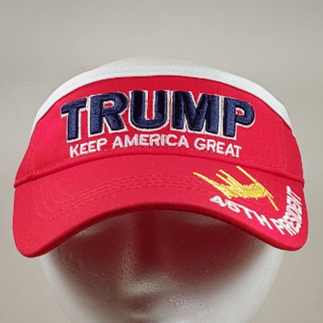 "Trump ""Keep America Great"" Signature Visor - Available in six colors"