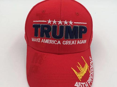 "Trump Signature ""Make America Great Again"" Cap – Available in Red"