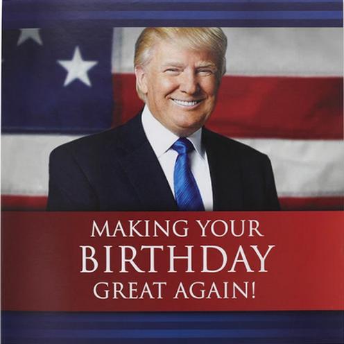 Donald Trump Talking Birthday Card