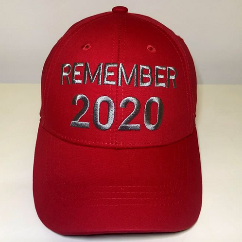 REMEMBER 2020 Cap - Available in Red