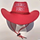 Thumbnail: America First Cowboy Hat - Available in Pink and Red