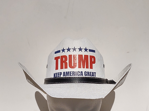 Trump Keep America Great Cowboy Hat
