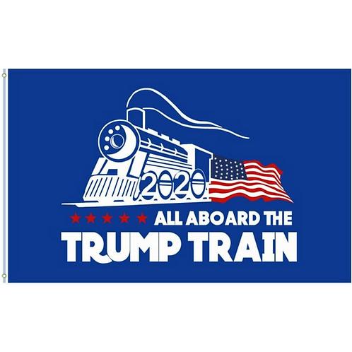Trump Train Flag: 3 ft x 5 ft