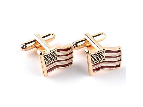American Flag Cufflinks (Set of 2)