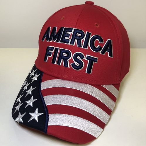 America First Cap - Available in 4 colors