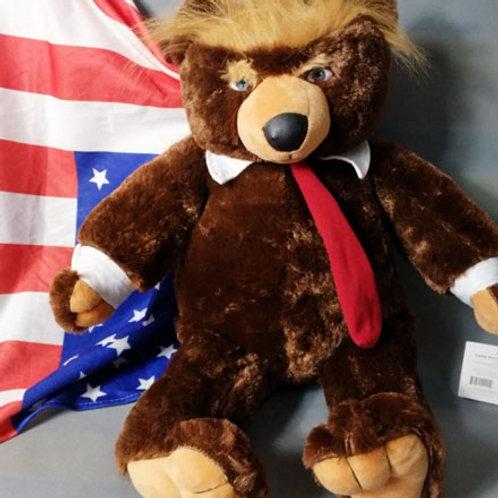 Trumpy Bear (2 feet high stuffed plush bear)