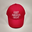 """Thumbnail: Children's """"Keep America Great"""" cap. Available in red and pink."""