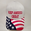 "Thumbnail: American Flag ""Keep America Great"" Cap. Available in Red, White and Blue"