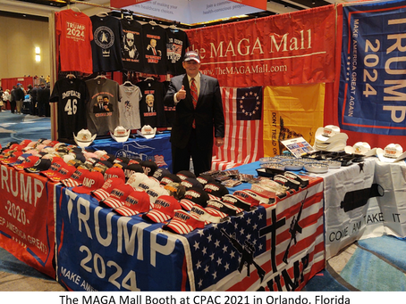 THE MAGA Mall Will Be Exhibiting At CPAC Dallas July 9-11