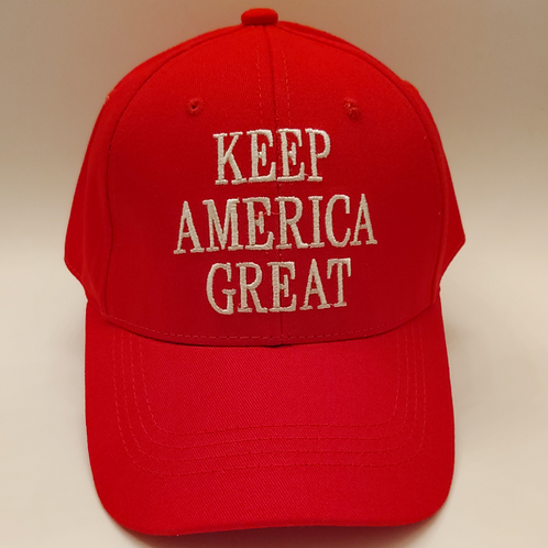 "Classic ""Keep America Great"" Cap – Available in Red, Camo and Black!"