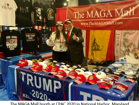 THE MAGA MALL WILL BE AT CPAC 2021 IN ORLANDO, FL