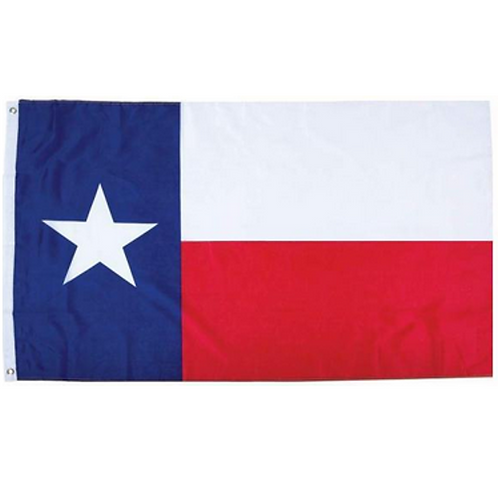 Texas State Flag: 3 ft x 5 ft