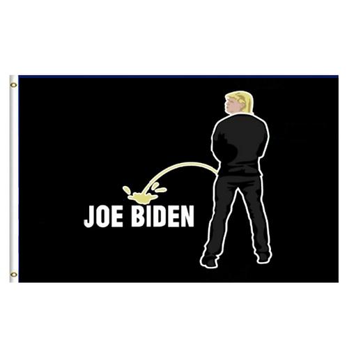 Piss On Biden flag: 3ft x 5 ft