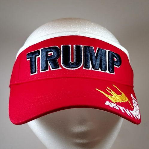 Trump Signature Visor - Available in Red and Purple