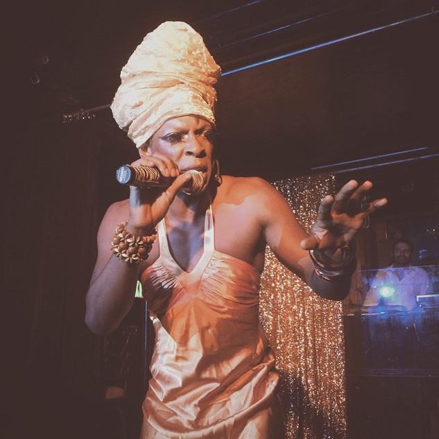 Miss Cleo Patois does Nina Simone