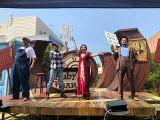 Seeing Red with the San Francisco Mime Troupe (I wrote a play!)