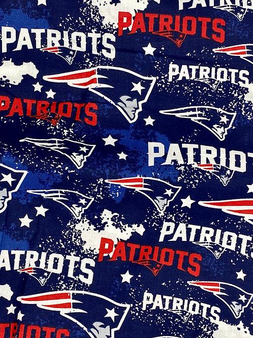New England Patriots on Blue