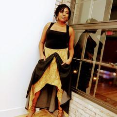 Tribal High-Low Skirt