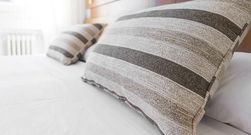 Pillows on Mattress