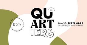 Qu'ARTiers : « un commerçant invite un artiste » du 9 au 23 septembre 2020
