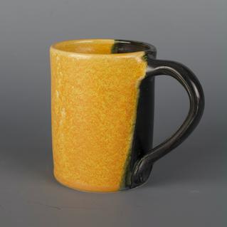 Orange & Black mug