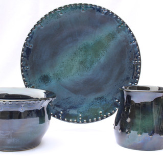 Nothern lights place setting