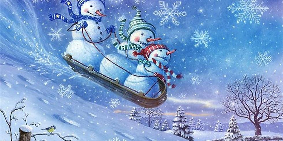 Онлайн–выставка детских рисунков «Зимние чудеса»