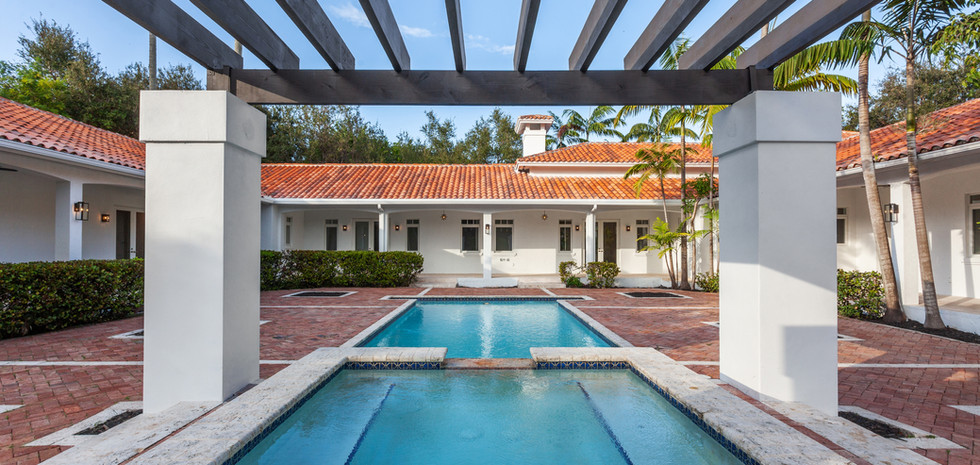 Gated Pinecrest Homes