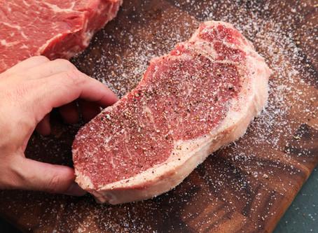 Anybody can cook a steak.