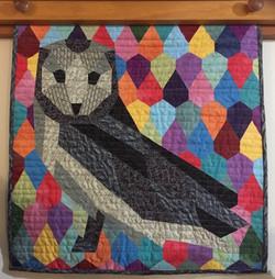 Ruth Wilson - Paper Pieced Owl