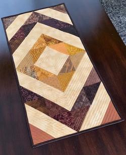 Judy Veltidi - Leftover Half Square Tria
