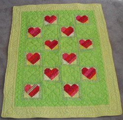Carol Johnson - Hearts Mini Quilt