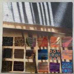 Louise Hutchison-Mini Quilt - Shadows