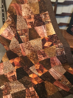 Linda Beatty - Potted Plant Quilt