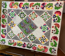 Barbara Berdy - Flower Dance Embroidery